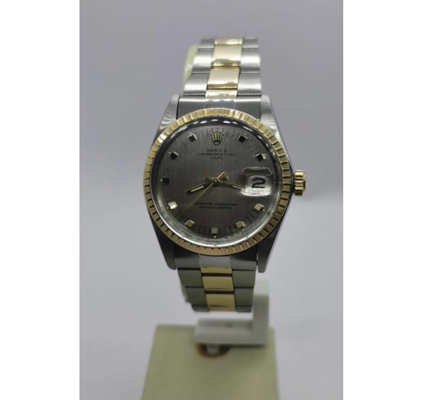 ROLEX OYSTER PERPETUAL DATE 34MM ACERO Y ORO
