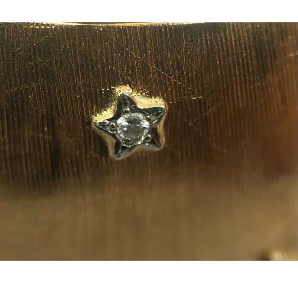 Pulsera rígida de Oro amarillo y diamantes